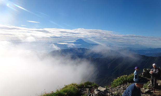 富士山に次ぐ日本第二の高峰