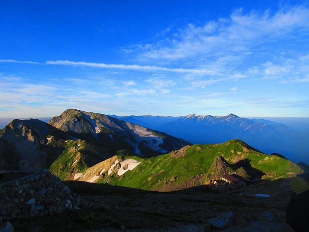 白馬岳 登山ツアー 東京発コース
