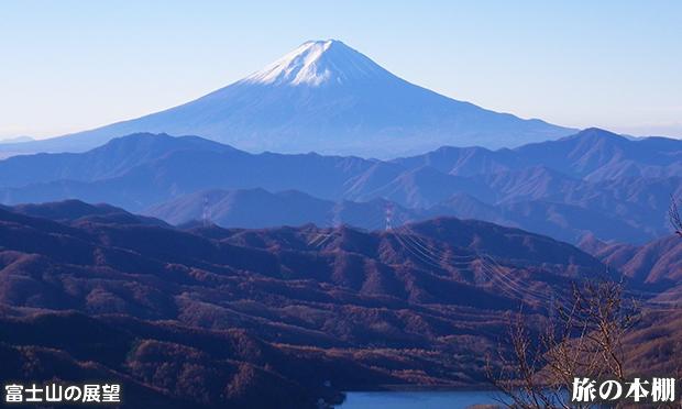 大菩薩嶺 2000m級の稜線からは絶景が楽しめます