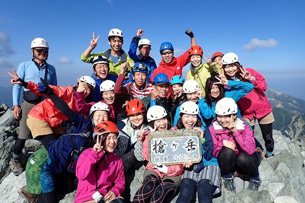 槍ヶ岳に必要な登山装備