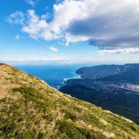 八丈島の2座登頂 八丈富士と三原山