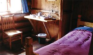 スコーキーロッジのベッドルーム