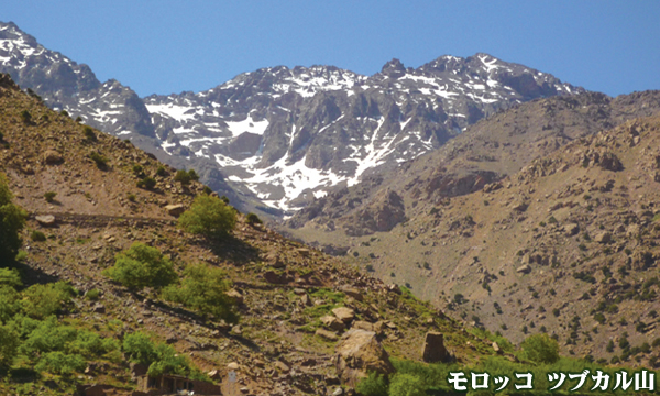 どっぷりモロッコ ツブカル山(4167m)登頂とサハラ砂漠&世界遺産紀行