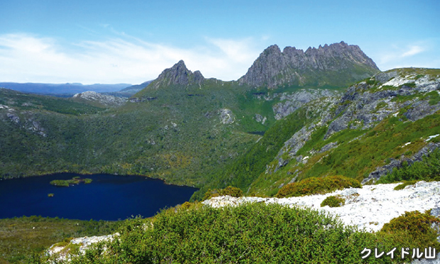 どっぷり タスマニア・クレイドル山国立公園登頂&ハイキング