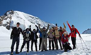 世界遺産アレッチ氷河