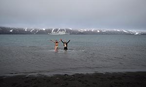 南極探検旅行 デセプション島