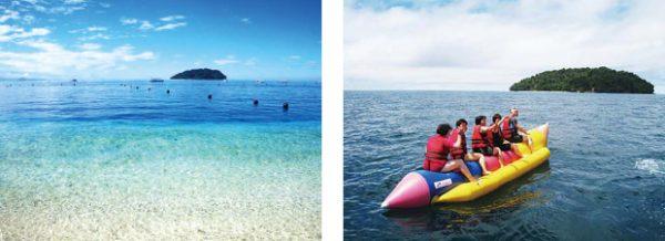 サピ島 珊瑚礁の島