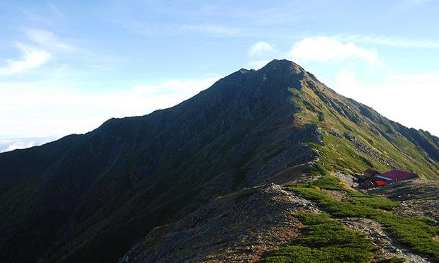 北岳 富士山に次ぐ第二の高峰