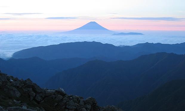 富士山の展望