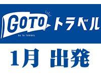 1月出発 Go To トラベル キャンペーン 登山ツアー
